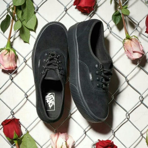❤Van s Authentic Platform 2.0 Canvas (Embossed) ab30be348
